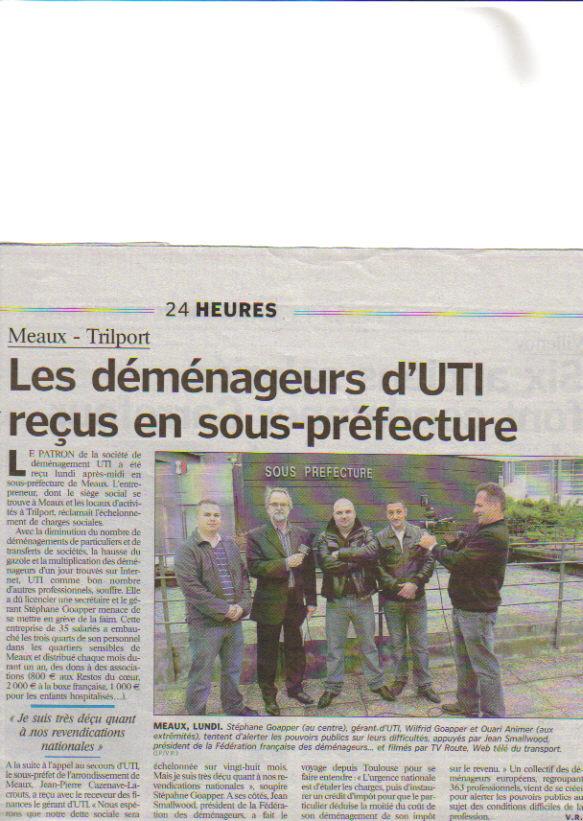 2° article parisien